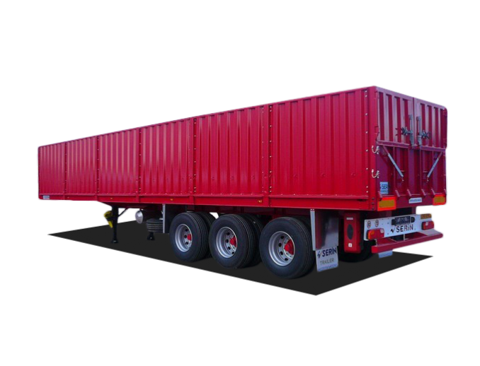 Tipper SERIN semi-trailer for bulk cargo (grain truck) 55 m3